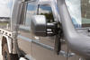 Clearview Next Gen Towing Mirrors For Toyota Land Cruiser 75-79 Series LWB, 1984 - On