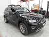 Off center front shot of Jeep Grand Cherokee with Clearview towing mirrors
