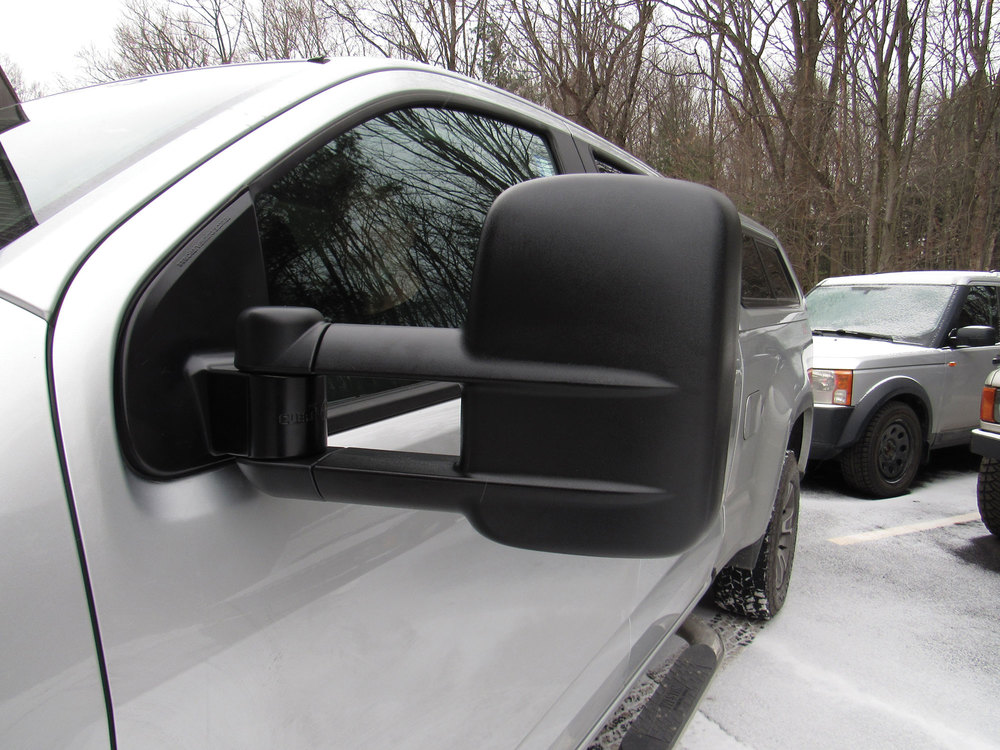 Clearview heated towing mirrors on Chevy Colorado