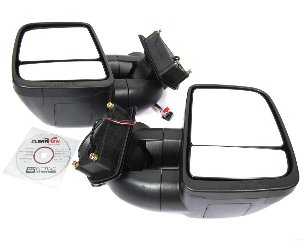 Clearview Next Gen Towing Mirrors For Land Rover LR3, 2005 - 2009