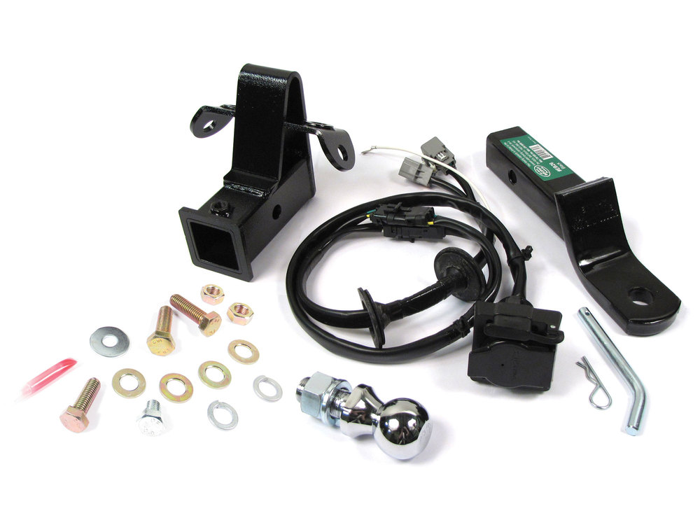 LR3 complete trailer hitch tow package
